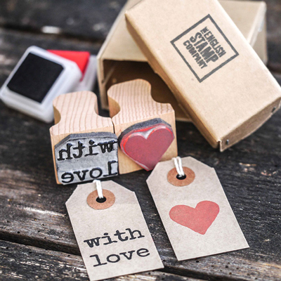 Personalised Monogram Rubber Stamps