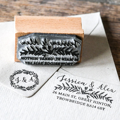 Personalised Text Rubber Stamps
