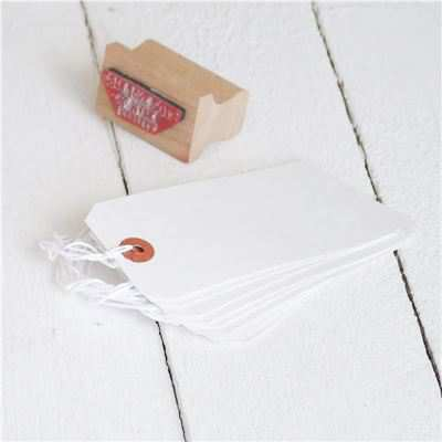 You can order this White Gift Tags - pack of 25