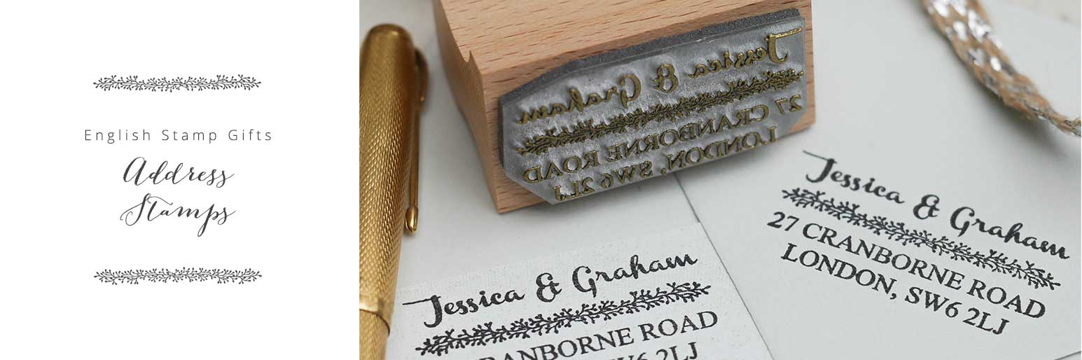Personalised Address Stamps Return