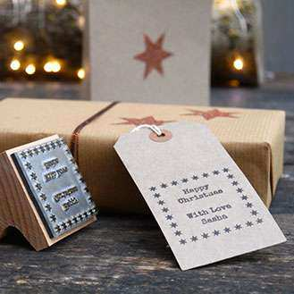 Gift Tag Stamp