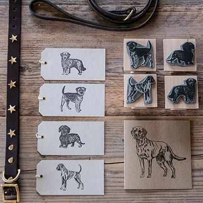 Debbie Kendall Dog Stamps