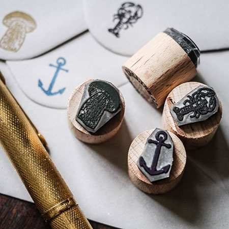 Mini Rubber Stamps