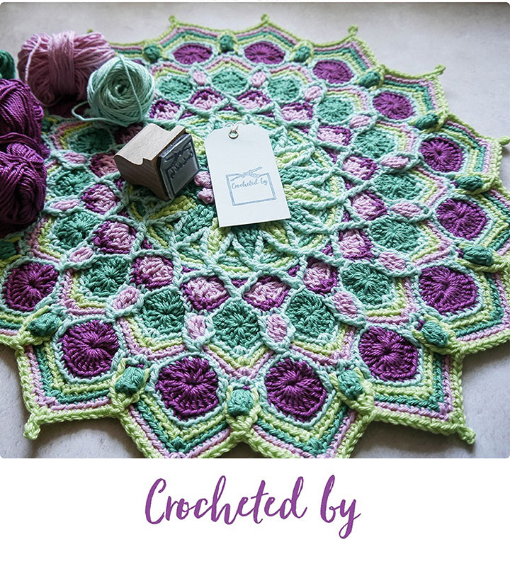 Charity Crochet Stamp