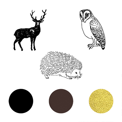 You can order this Woodland Creatures Stamp Set