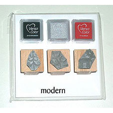 Order Christmas Stamp Kit - Modern
