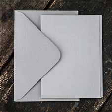 Order Grey Invite cards and envelopes