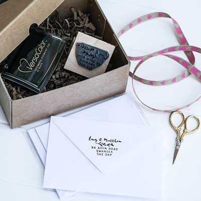 You can order this Gift Box for packing stamps