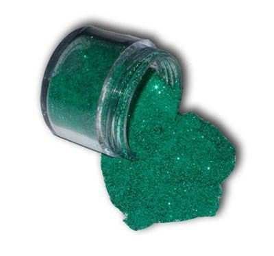 You can order this Green Sparkle Embossing Powder
