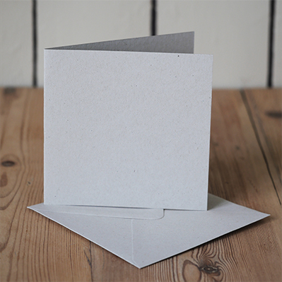You can order this Grey 120mm Square Cards & Envelopes