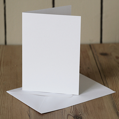 You can order this White A6 Cards & Envelopes