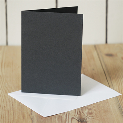 You can order this Black A6 Cards & Envelopes