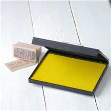 Order Need a large inkpad? Our extra large inkpads are a massive 141 x 108 mm and contain pigment ink, so you can emboss if you like.