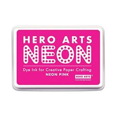 Hero Arts - Neon Pink Inkpads For Stamping