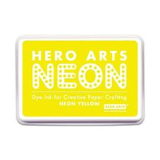 Hero Arts - Neon Yellow Rubber Stamp