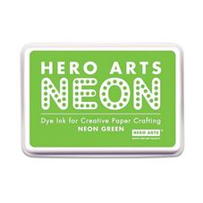 Hero Arts - Neon Green Craft Stamp