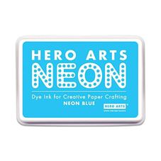 Hero Arts - Neon Blue Rubber Stamp