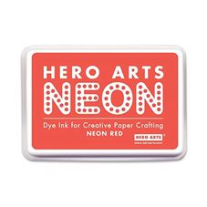 Hero Arts - Neon Red Personalised Stamp
