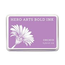 Hero Arts - Orchid Craft Stamp