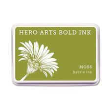 Hero Arts - Moss Rubber Stamp