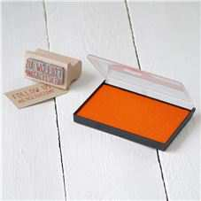 Medium - Orange Rubber Stamp Inkpad