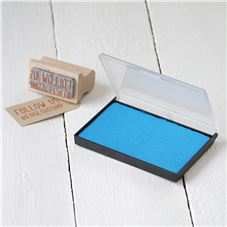 Medium - Powder Blue Inkpads For Stamping