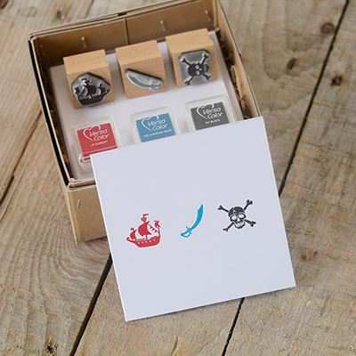You can order this Pirate Stamp Kit