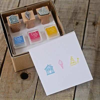 You can order this Seaside Stamp Kit