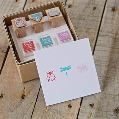 You can order this Ladybird Stamp Kit