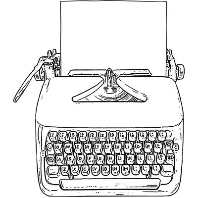 You can order this Typewriter