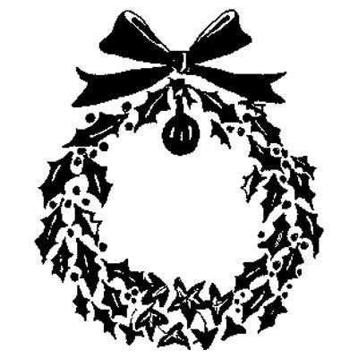 You can order this Holly Wreath