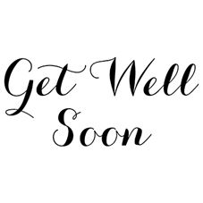 Get Well Soon 2 Craft Stamp