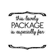 Order Lovely Package