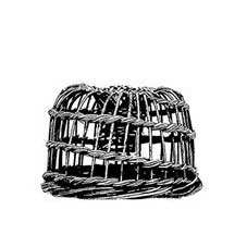 Lobster Pot Personalised Stamp