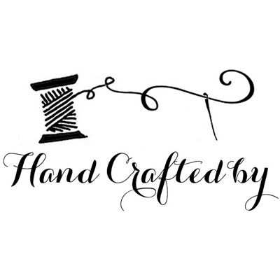 You can order this Hand Crafted by...Sewing