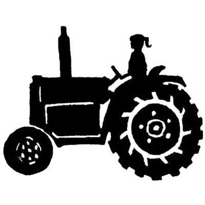 You can order this Tractor Girl