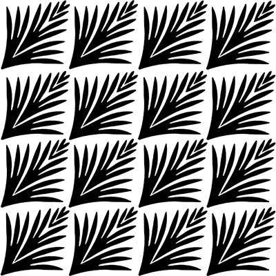 You can order this Art Deco Pattern 4x4