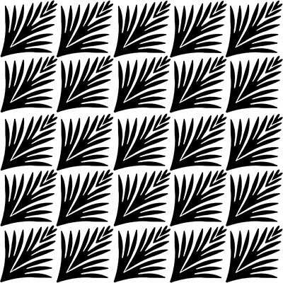 You can order this Art Deco Pattern 5x5