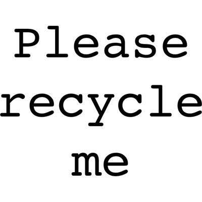 You can order this Recycle Me