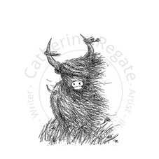 Heelan Coo Personalised Stamp