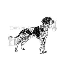 Pointer Rubber Stamp