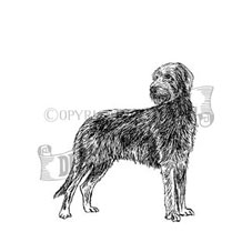 Irish Wolfhound Personalised Stamp