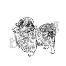 Pekingese Personalised Stamp
