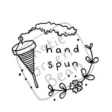 Hand-Spun Spool Craft Stamp