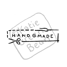 Sewers Handmade Rubber Stamp
