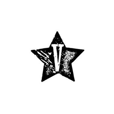 You can order this V star stamp