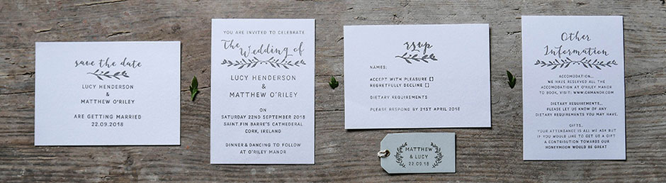 the english stamp company natural invitation rubber stamp