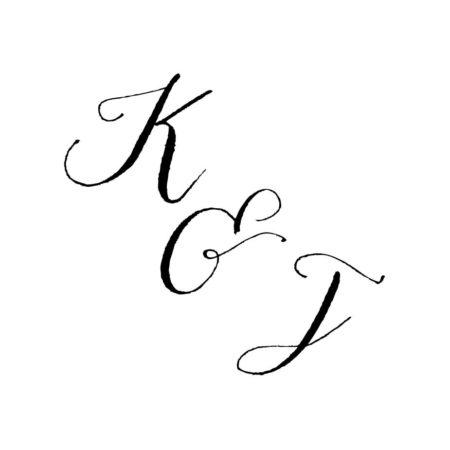 You can order this Calligraphy Wedding Monogram 1