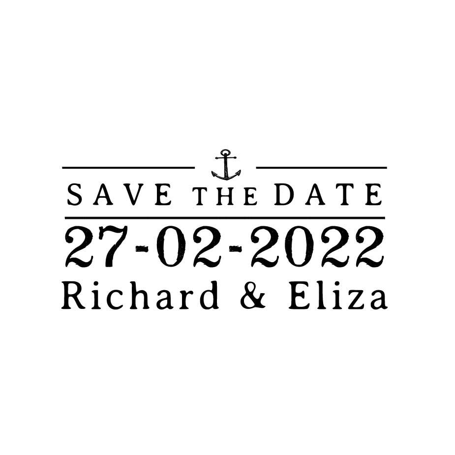 You can order this Nautical Wedding Save the Date 1