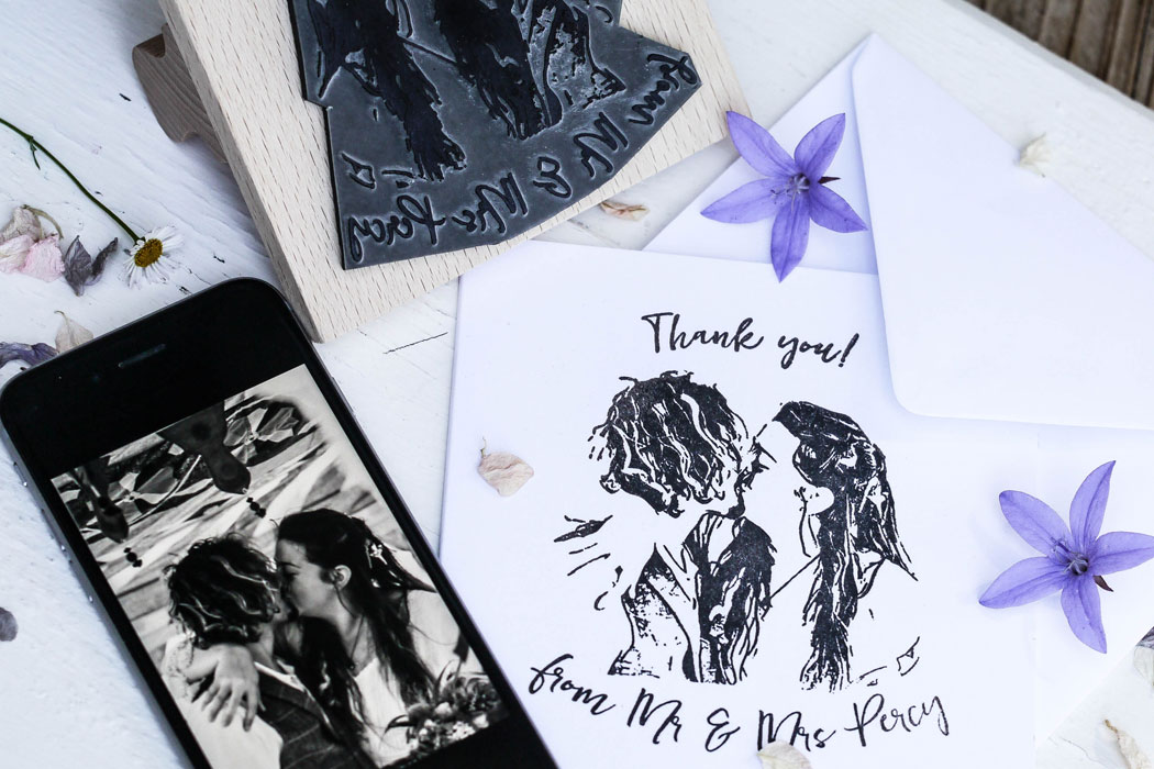 Wildflower Wedding Collection Rubber Stamps
